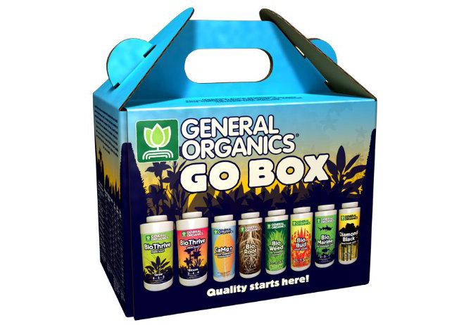 General Hydroponics Organic Fertilizer Starter Kit