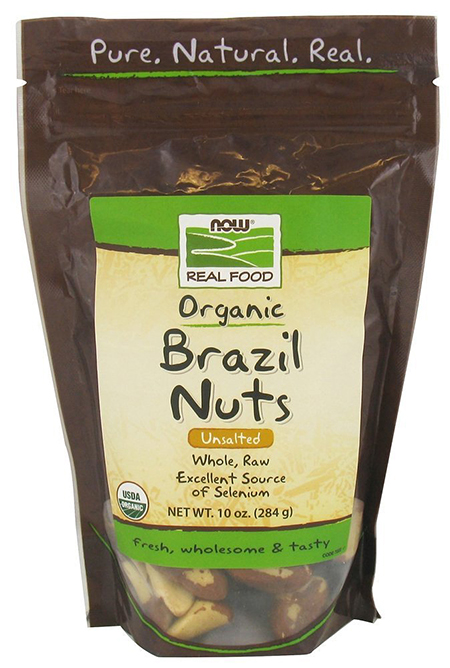 Now Foods Organic Wild Brazil Nuts
