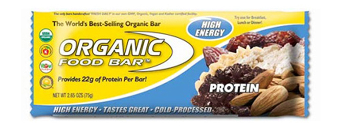Organic Food Bar With Protein