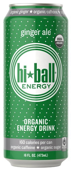 Hiball Energy Organic Energy Drink With Ginger