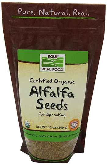 Now Foods Organic Alfalfa Sprouting Seeds