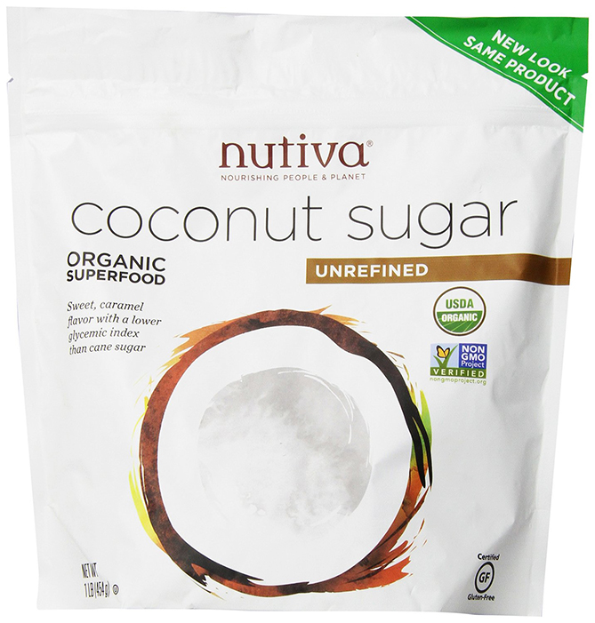 Nutiva Unrefined Organic Coconut Sugar