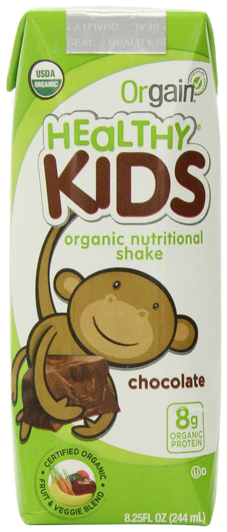 Orgain Organic Chocolate Shake For Kids