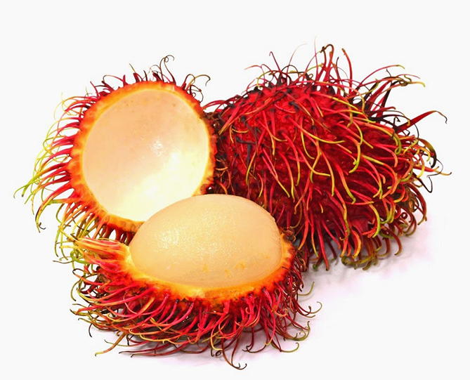 Weird fruit - Rambutan