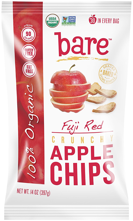 Bare Organic Bake-Dried Apple Chips