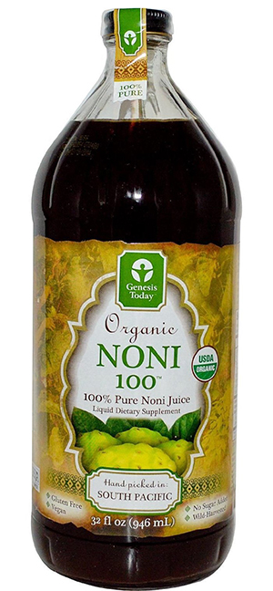 Genesis Today Organic Noni Juice