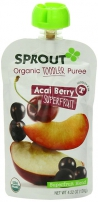 Sprout Toddler Pouches with Organic Fruits