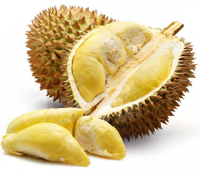 Weird fruit Durian