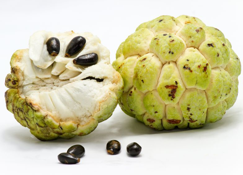 Weird fruit Sugar-apple - custard apple
