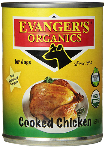 Evanger's Grain Free Organic Chicken for Dogs