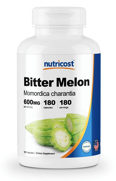 GMO-Free Bitter Melon Capsules by Nutricost
