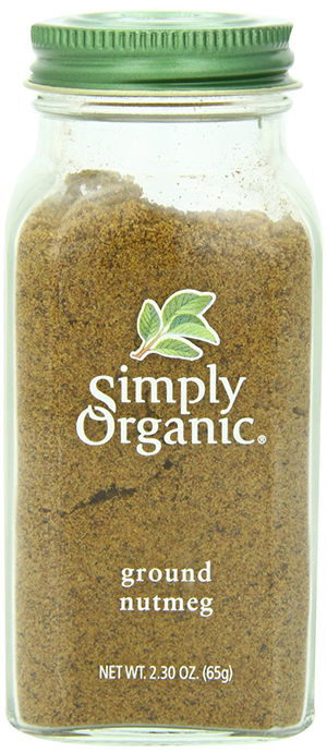 Ground Organic Nutmeg Powder by Simply Organic