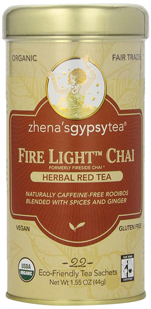 Organic Herbal Red Tea by Zhena's Gypsy Tea