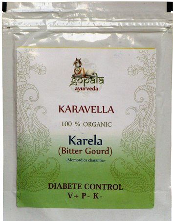 Organic Karela Powder by Gopala