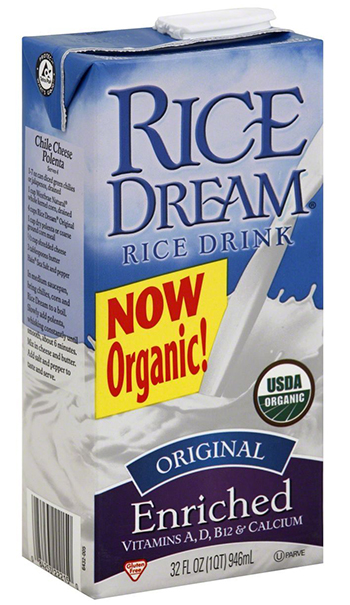 Rice Dream Organic Rice Milk