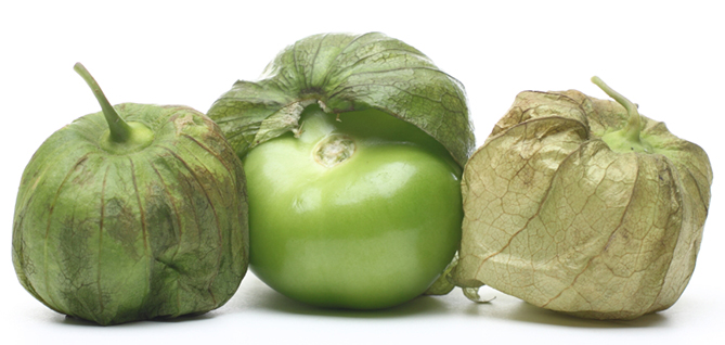 Weird vegetable Tomatillo