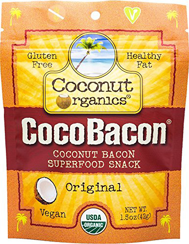 CocoBacon Superfood Snack by Coconut Organics