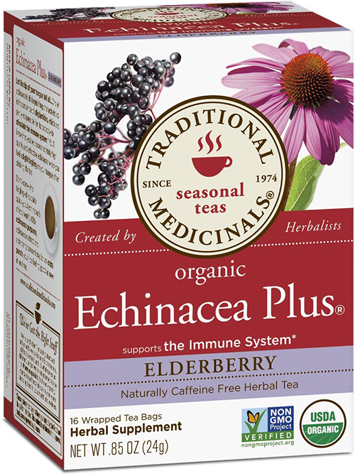 Echinacea Elderberry Organic Herbal Tea