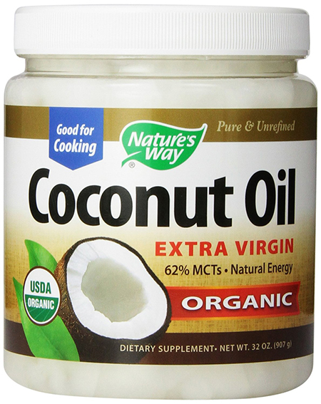 Extra Virgin Organic Coconut Oil by Nature's Way