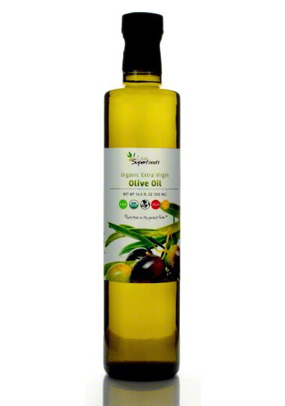Extra Virgin Organic Olive Oil by Live Superfoods