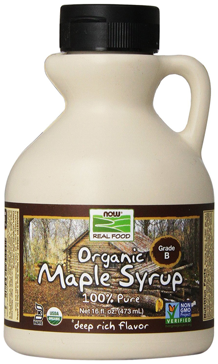 Organic Maple Syrup by Now Foods