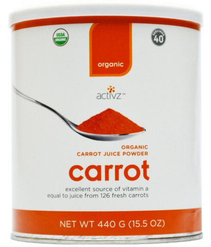 Organic Carrot Juice Powder by Activz