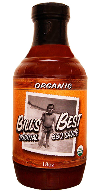 Organic Original BBQ Sauce by Bills Best