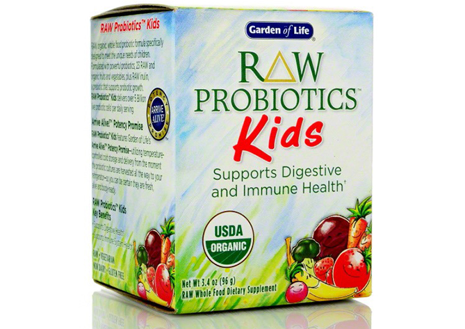 Organic Probiotic for Kids by Garden of Life