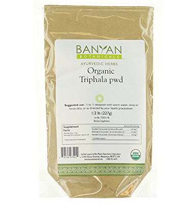 Organic Triphala Powder by Banyan Botanicals
