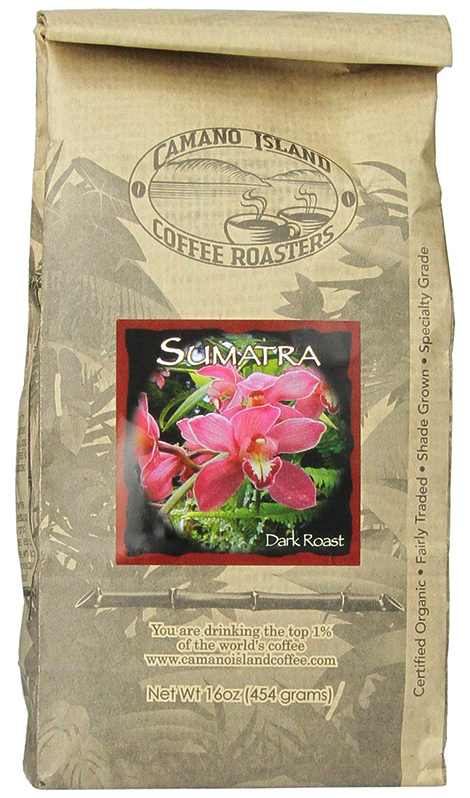 Sumatra Organic Coffee by Camano Island Coffee Roasters