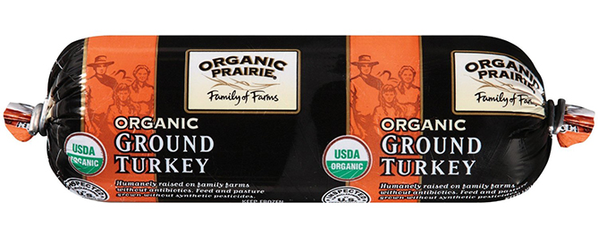 Organic Ground Turkey by Organic Prairie