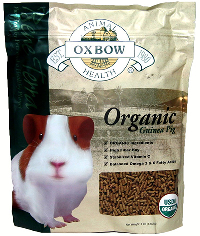 Organic Guinea Pig Food by Oxbow, Pellets
