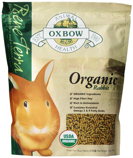 Organic Rabbit Food by Oxbow, Pellets
