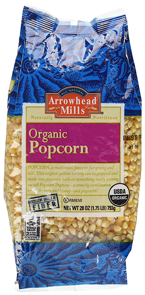 Organic Yellow Popcorn by Arrowhead Mills, Whole