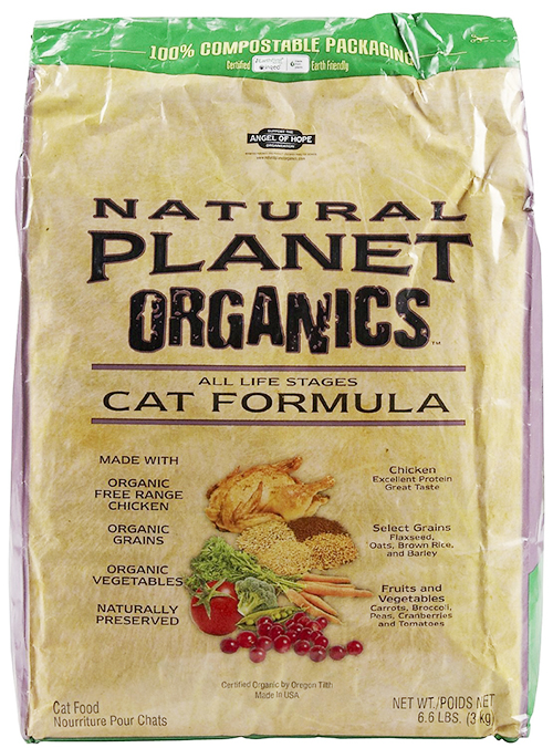 All Life Stages Organic Cat Food by Natural Planet Organics