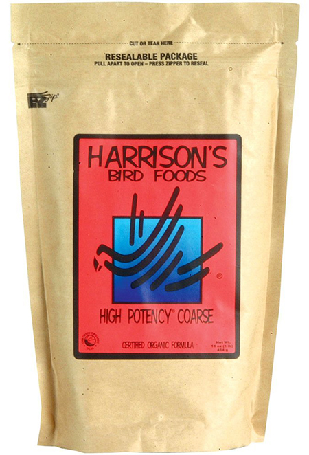 High Potency Coarse, Organic Bird Food by Harrison's Bird Foods