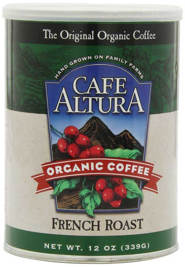 Organic French Roast Coffee by Café Altura, Ground
