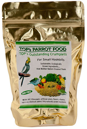 GMO-Free Small Parrot Food by TOP's Parrot Food