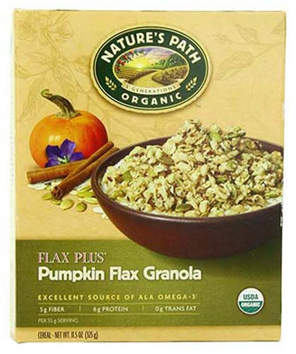 Organic Flax and Pumpkin Granola by Nature's Path