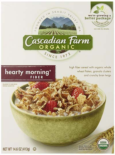 Organic High Fiber Morning Cereal by Cascadian Farm Cereal