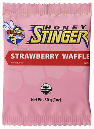 Organic Strawberry Waffle Biscuit by Honey Stinger
