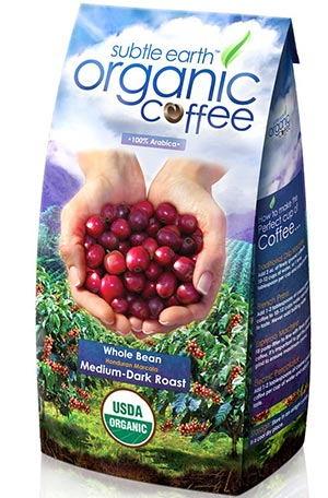 Organic Medium Dark-Roast Whole Coffee Beans by Café Don Pablo