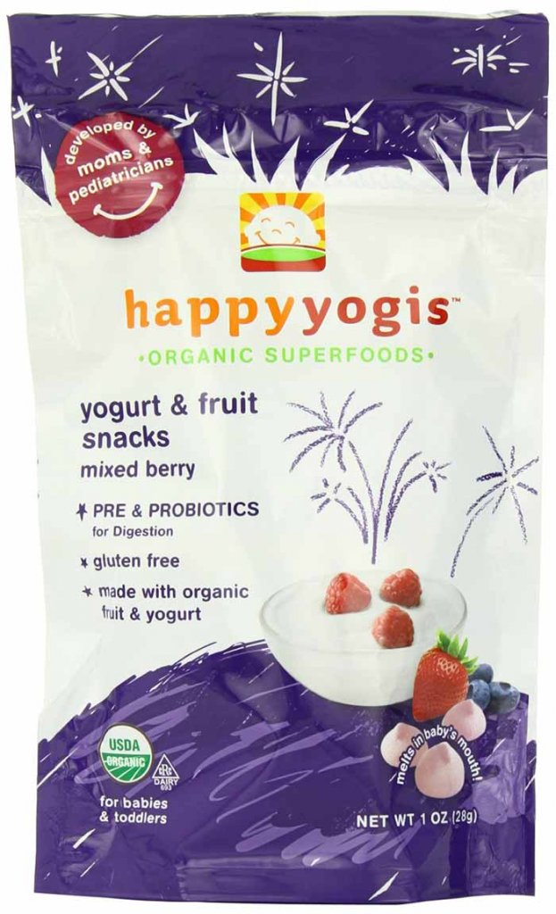 Organic Baby And Toddler Yogurt Snack by Happy Family