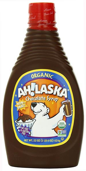 Organic Chocolate Syrup by AH!LASKA