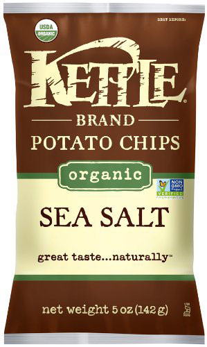 Organic Potato Sea Salted Chips by Kettle Brand