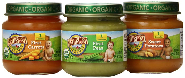 Organic Stage 1 Vegetable Puree Pack by Earth's Best