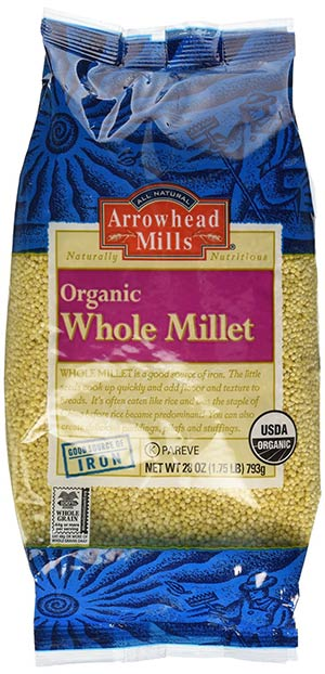 Organic Whole Millet by Arrowhead MIlls