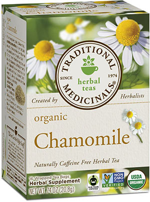 Organic Camomile Tea by Traditional Medicinals