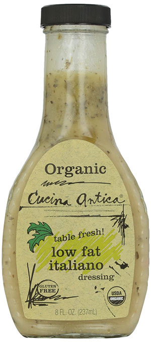 Organic Low-Fat Italiano Dressing by Cucina Antica