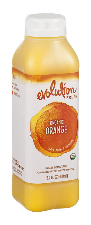 100% Organic Orange Juice by Evolution Fresh